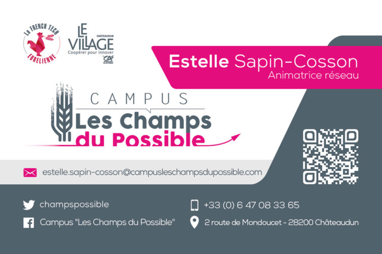 Campus Les Champs du Possible – Cartes de visite
