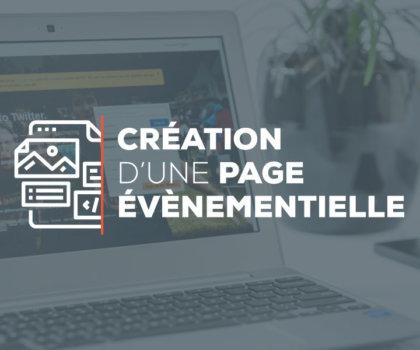 Digitivup - Création d'une page évènementielle