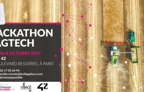 École 42 – Hackathon AgTech – Invitation