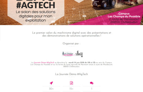 Journée de Démo AgTech – Site Internet