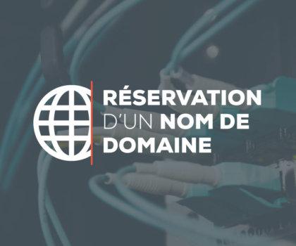 Digitivup - Réservation d'un nom de domaine