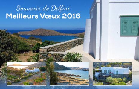 Villa Eumaïos – Vœux 2016