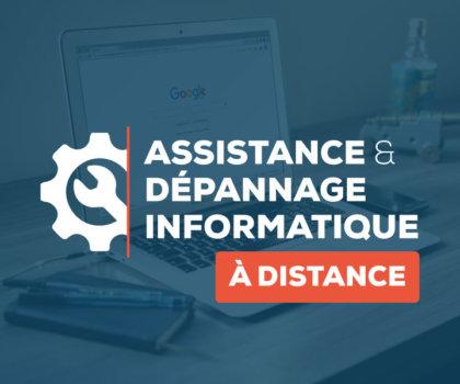 Assistance et dépannage informatique à distance