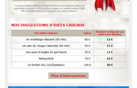 BlueBox Chartres Newsletter