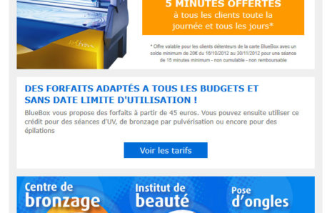 BlueBox Chartres – Newsletter