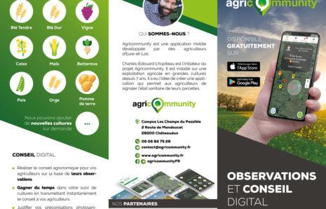 AgriCommunity – Dépliant A4