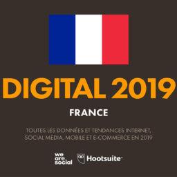 Le numérique en France en 2019