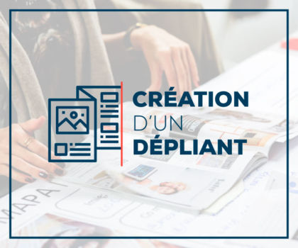 Digitivup - Création d'un dépliant ou d'une plaquette