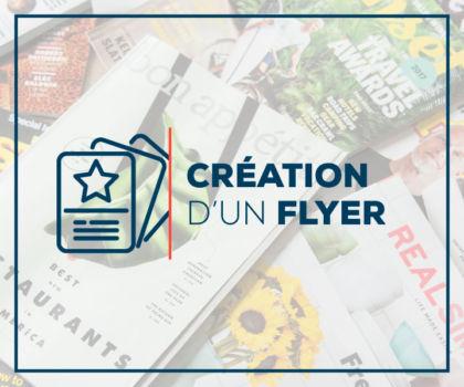 Création d'un flyer, d'un prospectus ou d'un tract