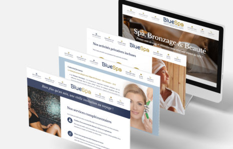 Bluespa Chartres – Site Web